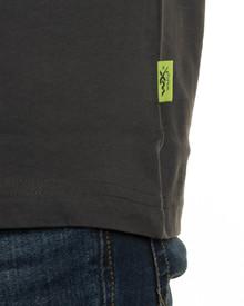 WX Premium T-Shirt<br />Charcoal w Flash Green