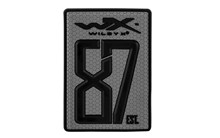 WX Velcro Patch 87est. <br />55 x 80 mm, Grey