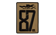WX Velcro Patch 87est.<br />55 x 80 mm, Tan