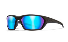 IGNITE Polarized Blue Mirror<br />Matte Black Frame