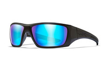 NASH Polarized Blue Mirror<br />Matte Black Frame