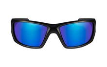 NASH Polarized Blue Mirror<br />Matte Black Frame