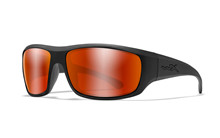 OMEGA Polarized Crimson Mirror<br />Matte Black Frame