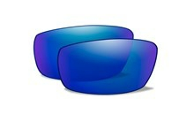RUSH Polarized Blue Mirror<br />Extra Lenses