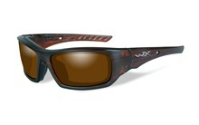 ARROW Polarized Amber<br />Matte Layered Tortoise Frame