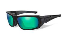 ENZO Polarized Emerald Mirror<br />Matte Black Frame