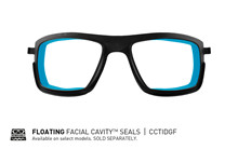 TIDE Polarized Blue Mirror<br />Matte Black Frame