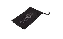 Black MicroFiber Bag w/String