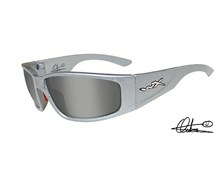 ZAK Smoke Silver Flash<br />Silver Metallic Frame