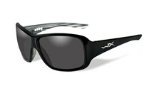 ABBY Polarized Smoke Grey<br />Black Marble Frame