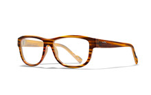 MARKER Clear Lens<br />Gloss Brown Streak Frame