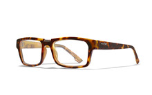 PROFILE Clear Lens<br />Gloss Demi Brown Frame