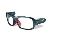 FIERCE Frame Front<br />Dark Silver/Red