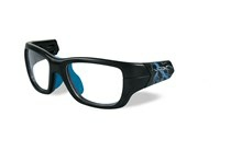 FLASH Frame Front<br />Matte Black/Electric Blue