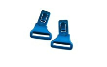 GAMER Clips<br />Gloss Black/Metallic Blue