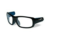 GAMER Frame Front<br />Gloss Black/Metallic Blue