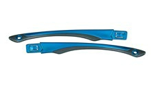 GAMER Temples<br />Gloss Black/Metallic Blue