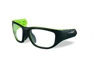 VICTORY Frame Front<br />Matte Black/Lime Green