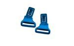 GAMER Clips<br />Gloss Black/Metallic Blue