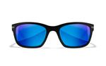 HELIX Captivate Blue Mirror<br />Matte Black Frame