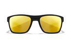 KINGPIN Pol Amber Gold Mirror<br />Matte Black Frame