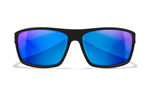 PEAK Polarized Blue Mirror<br />Matte Black Frame