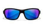 WAVE Captivate Blue Mirror<br />Matte Black Frame