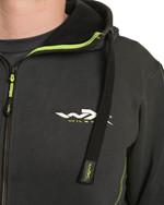 WX Premium Hoodie<br />Charcoal w Flash Green