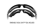 WAVE Polarized Blue Mirror<br />Gloss Black Frame
