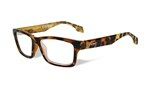 CONTOUR Clear Lens<br />Gloss Brown Demi Frame