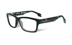 CONTOUR Clear Lens<br />Gloss Demi Black Frame
