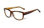 MARKER Clear Lens<br />Gloss Brown Streak Frame