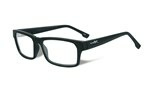 PROFILE Clear Lens<br />Matte Black Frame