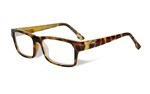 PROFILE Clear Lens<br />Gloss Demi Brown Frame