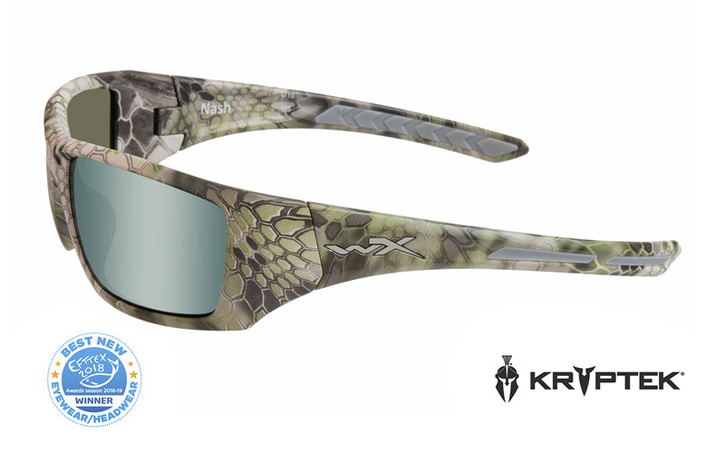 8f415a4deb NASH Pol Green Platinum Flash Kryptek Altitude Frame - Wiley X EMEA LLC