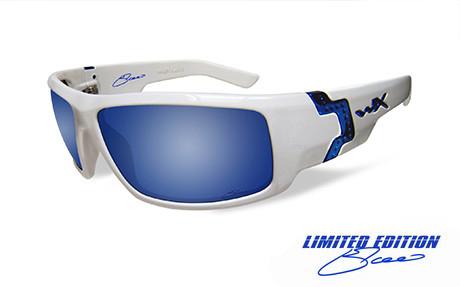4b7cca5217d4 XCESS Smoke Grey Blue Mirror White Frame Elgaard - Wiley X EMEA LLC