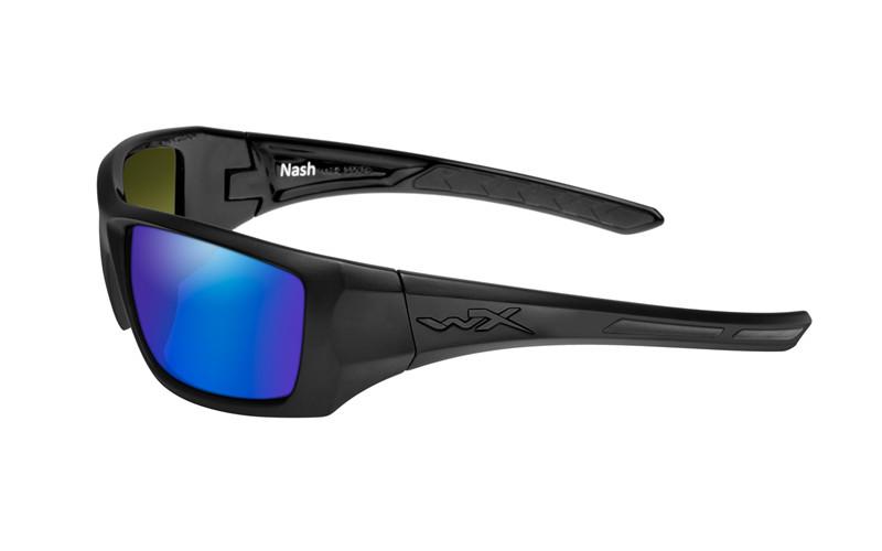 75dfdb7fd0 NASH Polarized Blue Mirror Matte Black Frame - Wiley X EMEA LLC