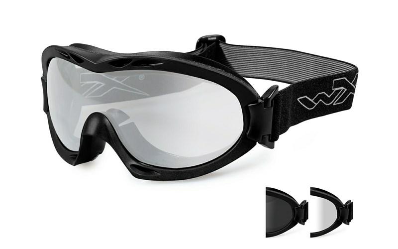 154bd52118 NERVE Smoke Clear Matte Black Frame - Wiley X EMEA LLC