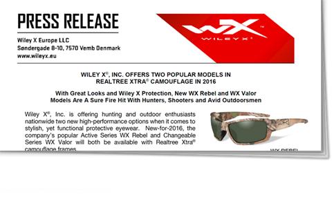 eb46bd39f0b Press Releases - Wiley X EMEA LLC