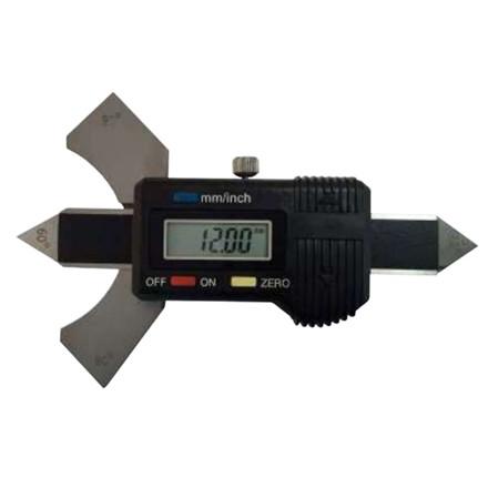 MIB digital præcisions svejselære 0-20 mm Aflæsning 0,01 mm - 60°,70°,80° og 90°