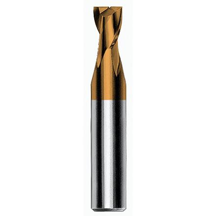 Magafor HM 2-skærs korte endefræsere 8500-H, Hard'X belagt, 0,1-14,0 mm