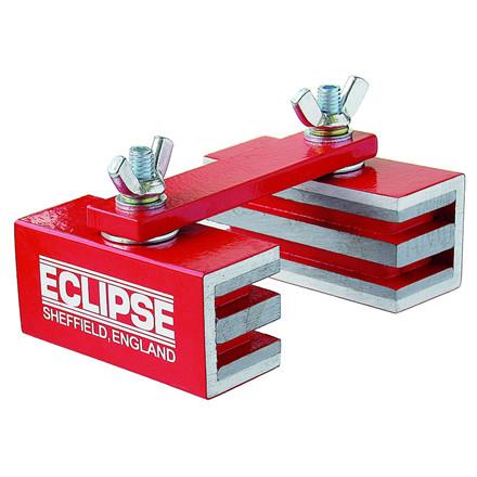 Eclipse justerbare ledopdelte Ferrit svejsemagneter 360 grader roterbare