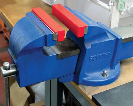 ECLIPSE røde magnetisk gummi og hvide PU magnetiske kæber Bredde 103-156 mm