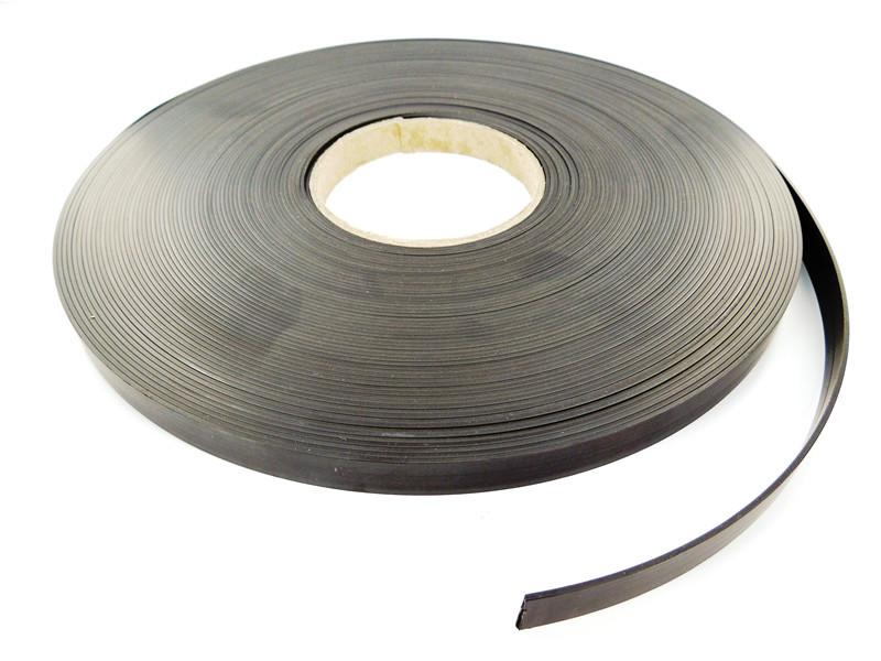 Magnetbånd uden klæb   Bredde 9,5 mm - 50 mm