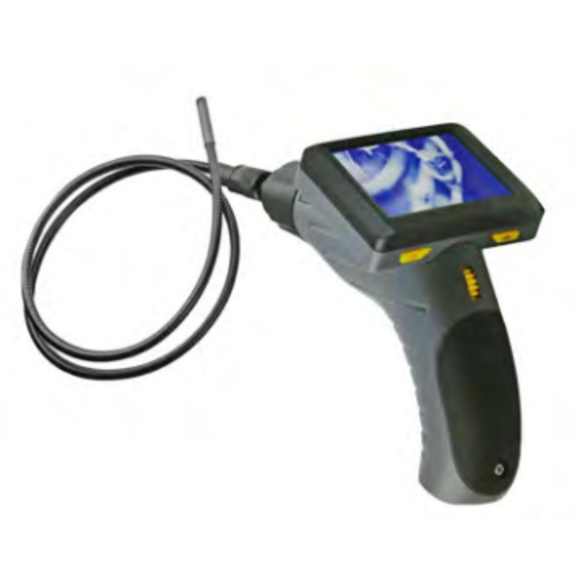 """MIB inspetionskamera med 3,5"""" farvemonitor Ø9x1000 mm IP67"""