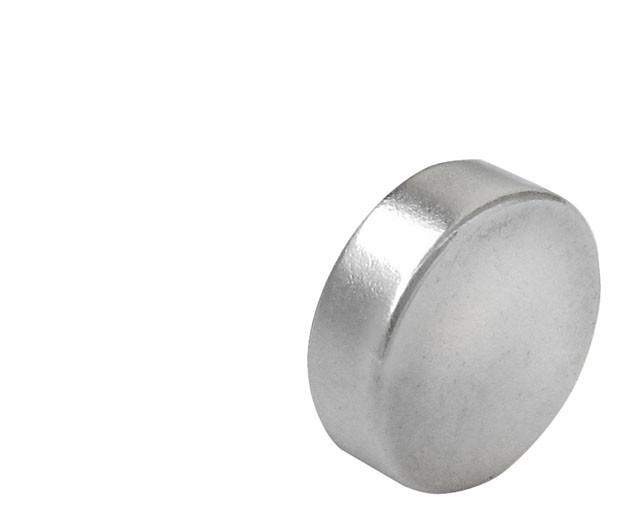 Skivemagneter Diameter Ø3 - Ø25 mm Neodymium