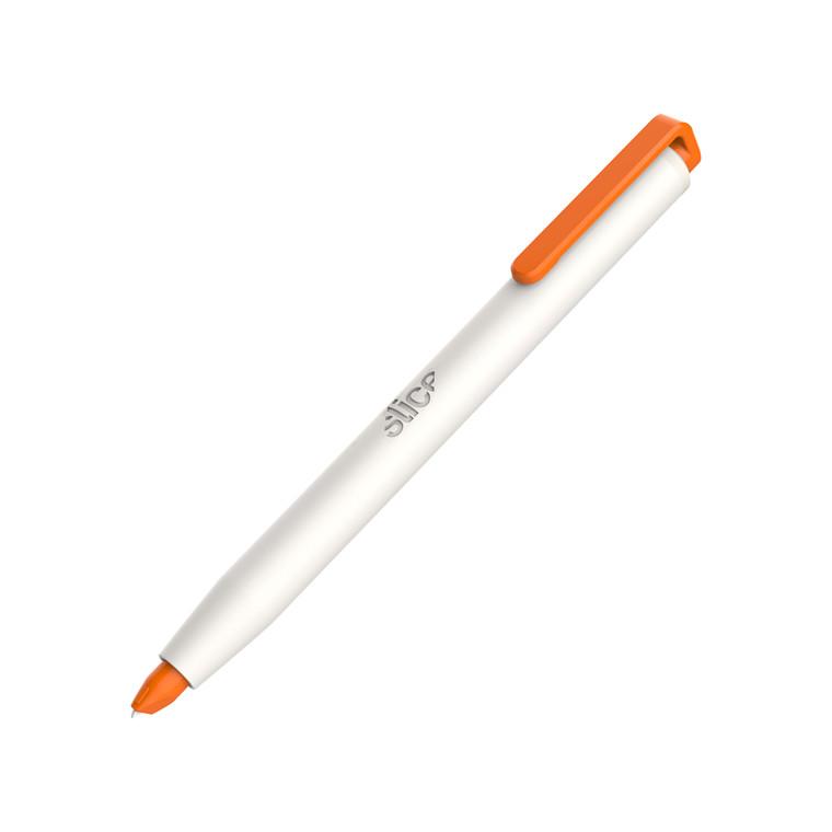 Slice® Præcisionskniv kuglepensformet med trykknap 10417 Inkl.bladnr 10418    Udskif.blad