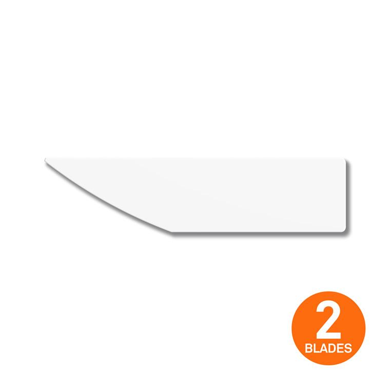 Slice® afgraterblade Konveks  10483 2 stk. pakke