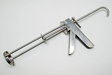 """10oz(300mm) Rustfri fugepistol, standard Total længde 12,9""""(33mm)"""