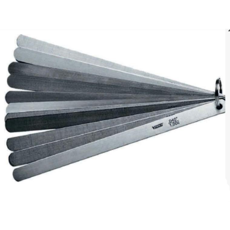 VOGEL rustfri søgerstål stempel+ventil 20 blade 0,05-1,00 mm lgd 150-300 mm